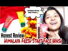 Clear skin with himalaya fresh start face wash