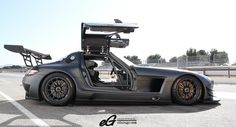 Mercedes Benz SLS GT3 takes time to cool down.