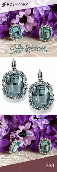 """Brighton Contessa Earrings NEW Brighton Contessa Earrings.  Feel like royalty with the Contessa earrings from Brighton.  These earrings feature Swarovski crystals, french wire lever back with a 3/4"""" drop and 3/4"""" wide. Very elegant. Brand NEW.   No trades. Brighton Jewelry Earrings"""