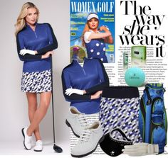Love the way she wears it? Get lots of exclusive inspiration at lorisgolfshoppe.polyvore.com #golf #ootd #lorisgolfshoppe
