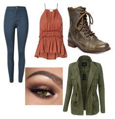 """""""It just feels right"""" by stowies74 on Polyvore featuring LE3NO and Steve Madden"""