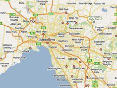 nice Map of Sunshine/Melbourne
