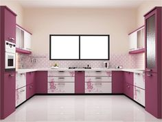secrets about purple kitchen cabinets 2019 and purple kitchen accessories. We will also tell you about the trends purple kitchen ideas and its combination such as purple and white kitchen decor. Kitchen Cabinets India, Purple Kitchen Cabinets, Kitchen Cupboard Designs, Best Kitchen Designs, Kitchen Furniture, Kitchen Ideas, Kitchen Sink, Furniture Design, Kitchen Island