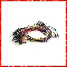 Bread Line breadboard wire tie wire cable test line experiment DuPont wire bundle 65 #Affiliate
