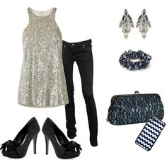 midnight blue, created by bellaviephotography on Polyvore