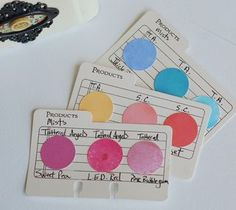 Product Cards (Spray Mist) by Betsy Veldman for Papertrey Ink (June 2012)