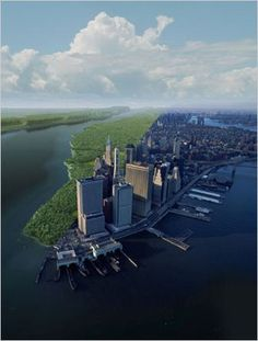 Manhattan: Then and Now