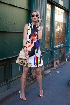 Paris Street Style: Spring 2015 Ready to Wear | Vanity Fair #Fashion #Women_Style