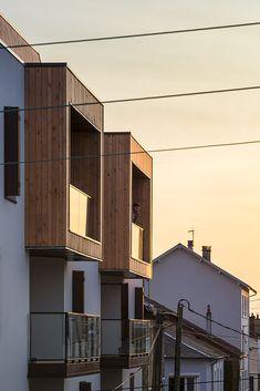 Housing in Limoges,© Sergio Grazia