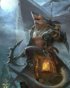 Pin by Chris White on - Concept Art - Characters Dark Fantasy Art, Fantasy Artwork, Fantasy Races, Fantasy Warrior, Fantasy Monster, Monster Art, Dnd Characters, Fantasy Characters, Fantasy Character Design