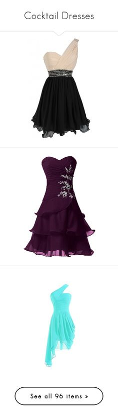 """""""Cocktail Dresses"""" by gueng ❤ liked on Polyvore featuring dresses, vestidos, chiffon cocktail dress, sequin cocktail dresses, fit and flare dress, pleated chiffon dress, vintage dresses, purple homecoming dresses, purple cocktail dresses and purple dresses"""