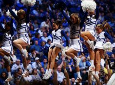 The UK cheerleading team is looking for its 20th national championship this weekend. (Chet White, UK Athletics)