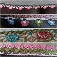 Tığ İşi Tülbent Oyaları - Kadınlar Sitesi - Kadınlar Sites Lace Flowers, Chrochet, Duvet, Tassels, Shoulder Bag, Model, Pattern, Design, Google