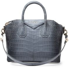 87abf4a0ae Givenchy Antigona Small Crocodile Bag