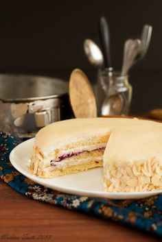 Almond Opera Cake - Modern Taste - fotografia kulinarna i przepisy Opera Cake, Cake Recipes, Dessert Recipes, Almond Cakes, Specialty Cakes, Sugar Cravings, Sweet Bread, Let Them Eat Cake, Just Desserts
