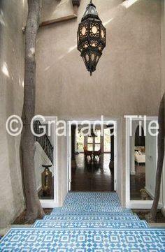 Tile Installation Photos - Photos of Cement & Concrete Tile Installations