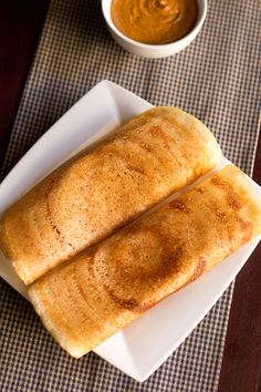easy Dosa made with rice flour and urad dal flour  i love dosa!