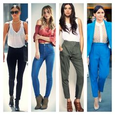 How to dress The Highwaisted Pant Casual Looks, Must Haves, Harem Pants, Dresses, Fashion, Vestidos, Moda, Harem Jeans, Fashion Styles