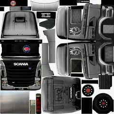 Check out collection of Gts images and Gifs right within PicsArt social network Bus Games, Truck Simulator, Skin Images, Truck Mods, Heavy Truck, Mini Things, Paper Models, Custom Trucks, Cool Trucks