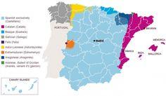 La diversidad lingüística de España