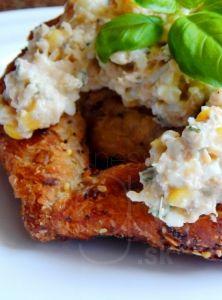 Vajíčkovo-tuniaková nátierka Baked Potato, Salsa, Sandwiches, Potatoes, Fitness, Chicken, Baking, Breakfast, Ethnic Recipes