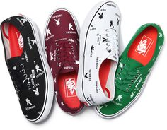 Supreme x Playboy x VANS - Spring/Summer 2014 Footwear Collection