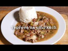 Vepřové na okurkách - To musíte zažít! - YouTube Ham, Food And Drink, Beef, Meat, Hams, Steak