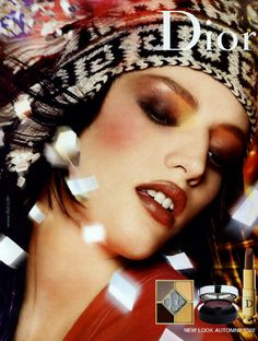 I do not know what would the world do without make up ads. Dior make up ads from the and and 1990s Makeup, Dior Makeup, Sfx Makeup, Makeup Geek, Makeup Inspo, Makeup Cosmetics, Vintage Makeup Ads, Retro Makeup, Vintage Perfume