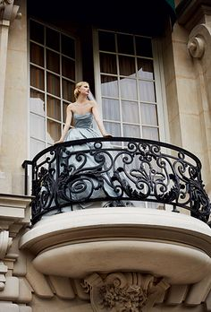 Haute Couture Wedding Dresses French Wedding Style - All About Balcony Paris Appartment, Balcon Juliette, Juliette Balcony, French Wedding Style, Shangri La Hotel, Wedding Styles, Wedding Ideas, Diy Wedding, Wedding Favors