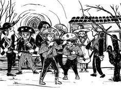 Ilustração de Cordel (illustration from popular brazilian literature - Cordel)
