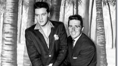 Elvis and Gary Player on the set of Blue Hawaii 1961. www.jeffreymarkell.com #jobsearch #salestrainer #softwaretrainer