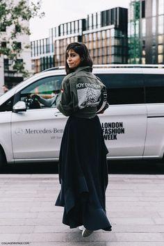 LONDON FASHION WEEK STREET STYLE #1