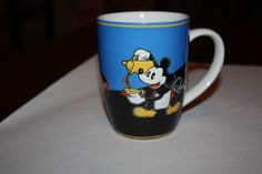 Disney MICKEY MOUSE Mickey's Really Swell Coffee Brand Collection Cups Mugs