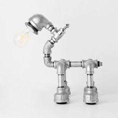 PIPESTORY lampe tube / lampe tube de fer / industriel lampe