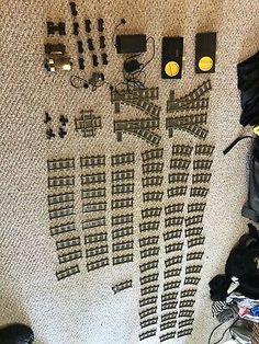 Lego Track, Lego Train Tracks, Remote, Wheels, Ebay, Pilot