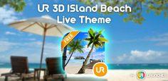 Sunny Island Beach 3D by UR
