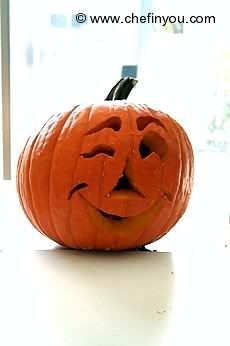 How to Carve a Pumpkin - Easy step by step pictorial