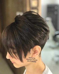 40 Cute Short Haircuts for Women 2019 - Short hairstyles for many women have a v. - - 40 Cute Short Haircuts for Women 2019 - Short hairstyles for many women have a very fine hair structure. Short Haircuts With Bangs, Short Hairstyles For Thick Hair, Short Hair Cuts For Women, Short Hair Styles, Pixie Haircuts, Short Thick Hair, Very Short Bob Hairstyles, Pixie Haircut For Thick Hair, Medium Haircuts
