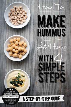 How to make hummus a