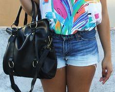 Chic Bowknot Side Rings Detail Shoulder Bag