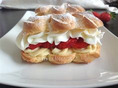 Czech Recipes, Food Humor, Confectionery, Sweet Recipes, Baked Goods, Cheesecake, Deserts, Dessert Recipes, Food And Drink