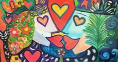 MirándoNOS nuevaMENTE esta vez con comPASIÓN #happyartbypato #patogilvillalobos #reinados #reinadosdeamor #love #loveyourselffirst #happyart #happyartist #amorencolores #artefeliz #arte #artlovers #artecontemporaneo  HappyArt by Pato