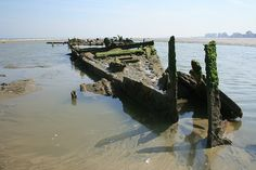 Wreck of SS Devonia