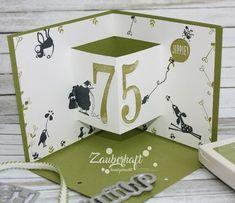 Enchanting Handmade: A Great SAB Set Simply Wonderful SAB 2018 Cats on Appletrees Birthday Corner Pop-up Card Ideas Scrapbook, Scrapbook Cards, Scrapbooking, Fancy Fold Cards, Folded Cards, Swing Card, Iris Folding, Card Making Tutorials, Easel Cards