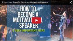 2 Important Steps To Become A Motivational Speaker   Jairek Robbins