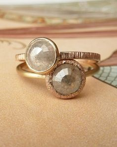 Very cool........ <3 rough cut diamonds.... reminds me of myself!!