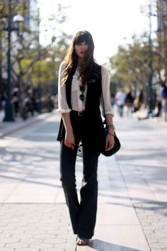 LOve with Boho look by Natalie | Edgy Business Casual | Pinterest