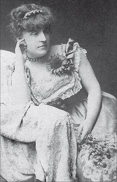 Frances Hodgson Burnett- author of A Little Princess, The Secret Garden, Little Lord Fauntleroy