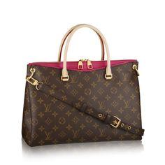 #LOUIS VUITTON PALLAS PINK M41147 BAG