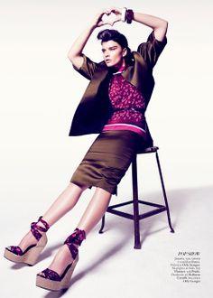 Editorial Força Urbana – Harper's Bazaar Brasil – Dezembro 2013
